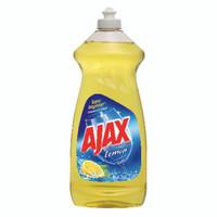 AJAX DISH LIQUID LEMON 28 OUNCE