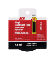 TAPE ELECTRICAL 3/4 X 66 FOOT VINYL ACE