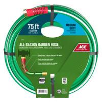 Ace 5/8 in. Dia. x 75 ft. L Medium-Duty Green Hose