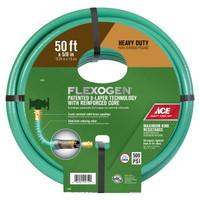 Ace Flexogen 5/8 in. Dia. x 50 ft. L Premium Grade Green Vinyl Garden Hose