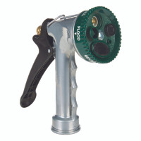 Ace Select-A Sray 7 pattern Adjustable Spray Metal Hose Nozzle