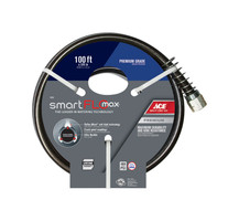 Ace SmartFLO 5/8 in. Dia. x 100 ft. L Premium Grade Garden Hose