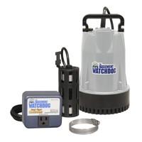 Basement Watchdog 1/3 hp 3,720 gph Aluminum Dual Reed AC Submersible Sump Pump