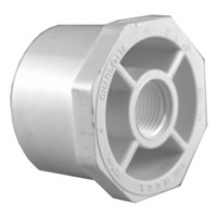 Charlotte Pipe Schedule 40 3/4 in. Spigot x 1/2 in. Dia. FPT PVC Reducing Bushing