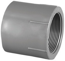 Charlotte Pipe Schedule 80 1/2 in. Slip x 1/2 in. Dia. FPT PVC Adapter