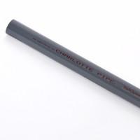 Charlotte Pipe Schedule 80 PVC Pressure Pipe 2 in. Dia. x 20 ft. L Plain End 400 psi