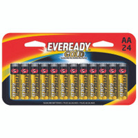 BATTERY EVER GOLD AA 24 PACK