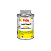 Oatey Clear Cleaner For ABS/CPVC/PVC 4 oz.