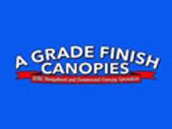 A GRADE FINISH CANOPIES