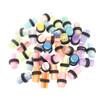 Lex & Lu 20 Pair of Acrylic UV Sensitive Layered Ear Plugs w/O-Rings-Lex & Lu