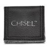 Lex & Lu Chisel Ceramic Black w/Green Carbon Fiber Beveled Edge Ring- 6 - Lex & Lu