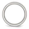 Lex & Lu Chisel Stainless Steel 4mm June Pink CZ Ring- 2 - Lex & Lu