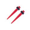 "Lex & Lu Pair of Acrylic Ear Expander Stretcher Taper Plugs, Gauges 14 Thru 5/8""-4-Lex & Lu"