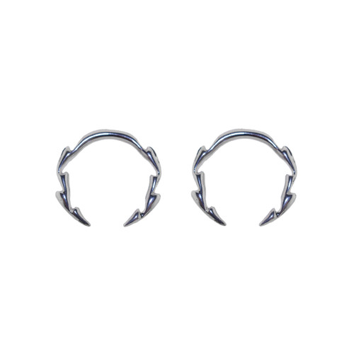 Lex & Lu Pair of Cast Steel Tribal Taper Plug Pinchers Piercing BDPC102-Lex & Lu