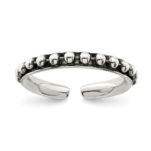 Lex & Lu Sterling Silver Toe Ring LAL116628 - Lex & Lu