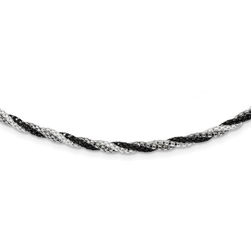 Lex & Lu Sterling Silver Fancy 7.5 Bracelet or Necklace - Lex & Lu