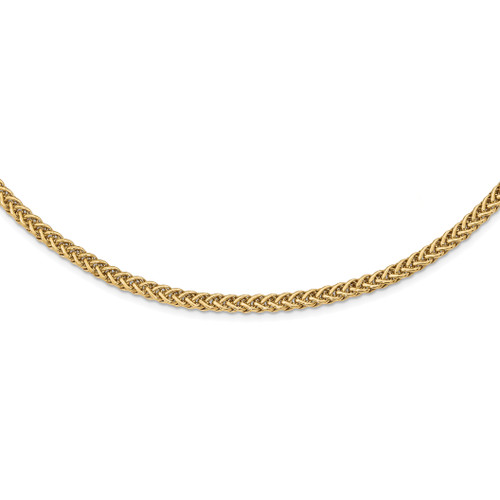 Lex & Lu 14k Yellow Gold Polished Fancy Link Bracelet or Necklace LAL125585 - Lex & Lu