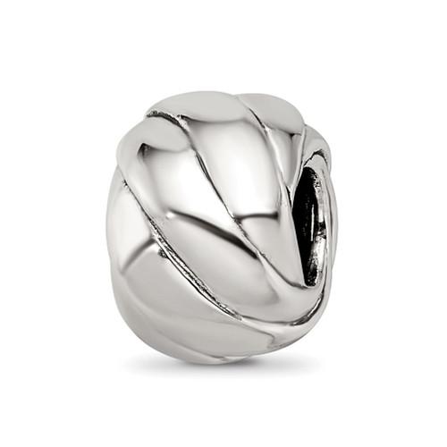 Lex & Lu Sterling Silver Reflections Bali Bead LAL5657 - Lex & Lu