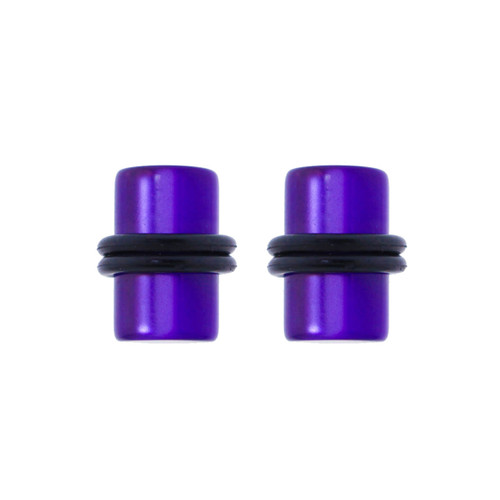Lex & Lu Pair of Acrylic Illusion Ear Plugs Body Piercing w/O-Rings 10G-0 Gauge-Lex & Lu