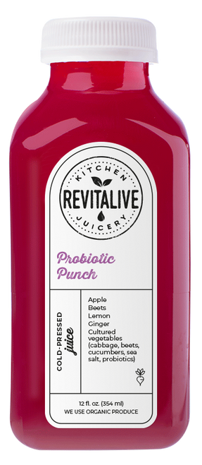 Probiotic Punch 12 oz (2 pack min - 12 bottles)