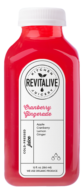 Cranberry Gingerade 12 oz (2 pack min - 12 bottles)