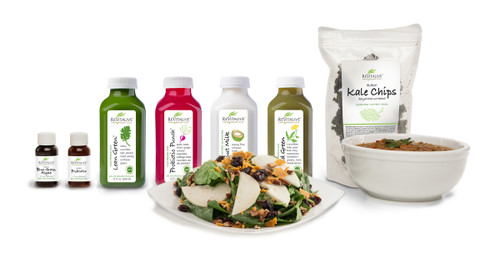SUGAR BUSTER Raw Food & Juice Cleanse