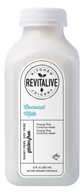 Raw Coconut Milk 12 oz (2 pack min - 12 bottles)