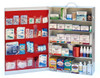 5 Shelf First Aid Cabinet, Filled