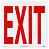 Exit Sign | Rigid Plastic, 10x14
