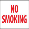 No Smoking Sign | Rigid Plastic, 10x14