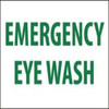 Emergency Eye Wash | Rigid Plastic, 10x14