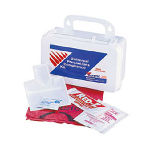 Universal Precautions Compliance Kit, Plastic Case