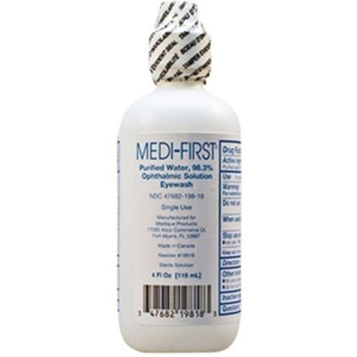 4oz. Medi-Wash Eye & Skin Irrigation Solution