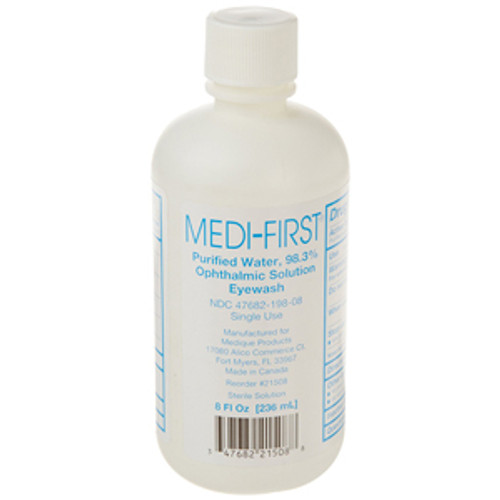 8oz. Medi-Wash Eye & Skin Irrigation Solution