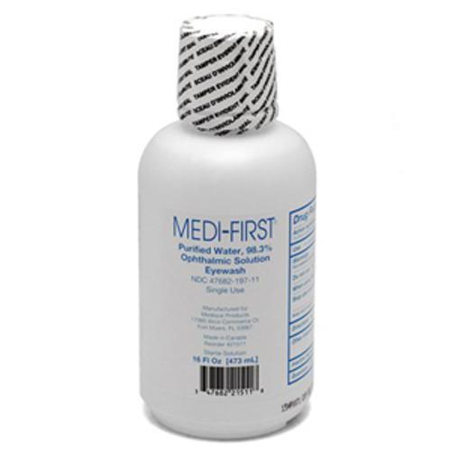 16oz. Medi-Wash Eye & Skin Irrigation Solution