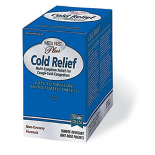 Multi Sympton Non Pseudo Cold Relief - Box of 100