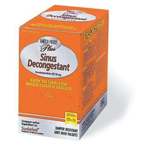 Non Pseudo Sinus Decongestant - Box of 100