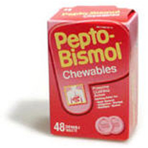 Pepto Bismol Tablets - Box of 48