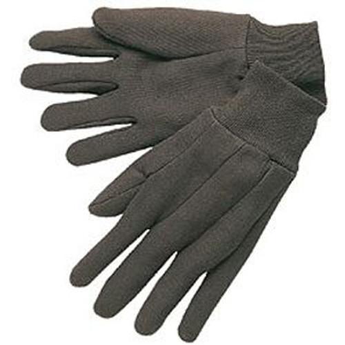 Brown Jersey Knit Wrist- 1 dozen