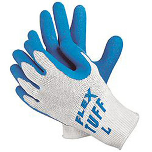 Flex-Tuff Textured Latex Gloves-1 dozen