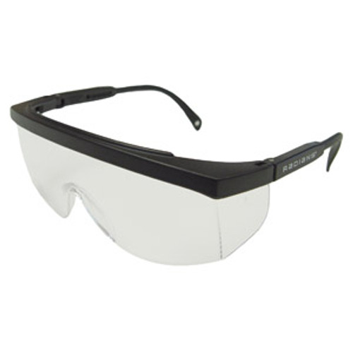 Galaxy by Radians - Clear with Black Frames 12 pair