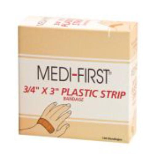 "3/4"" x 3"" Plastic Strip"