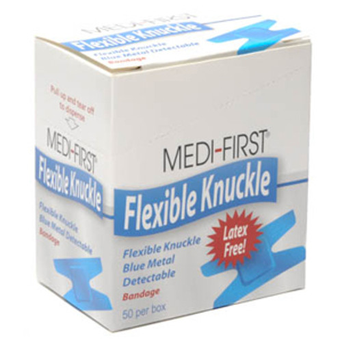 Visible Blue Flexible Knuckle