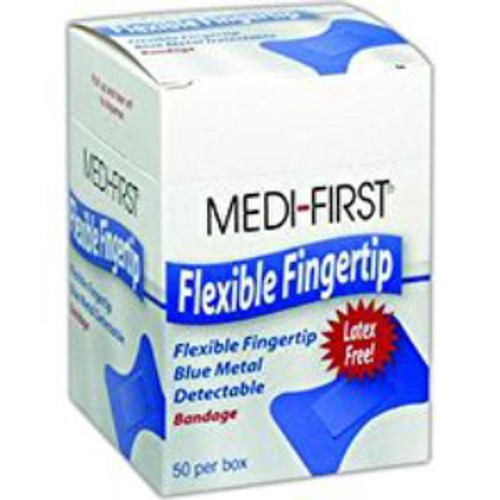 Visible Blue Flexible Fingertips