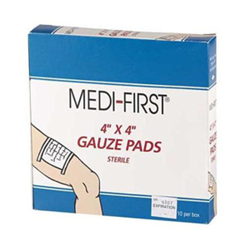 "4"" x 4"" Sterile Gauze Pads (10 count)"