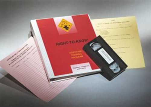 Right To Know for Cleaning and Maintenance Regulatory Kit