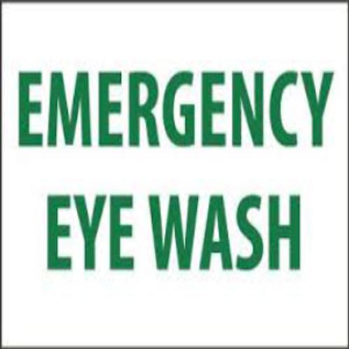 Emergency Eye Wash | Rigid Plastic, 10x14