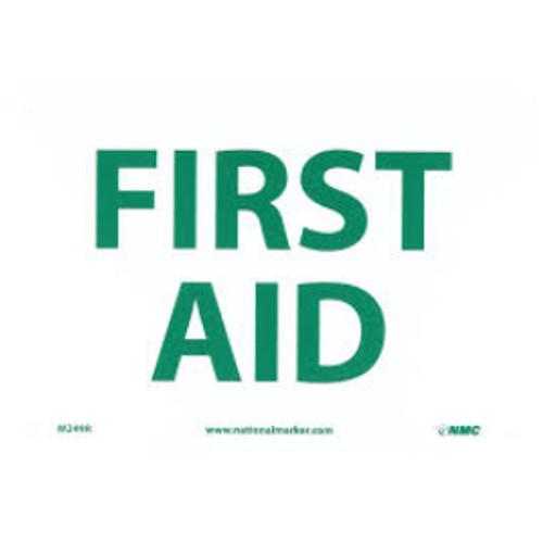 First Aid | Rigid Plastic, 7x10