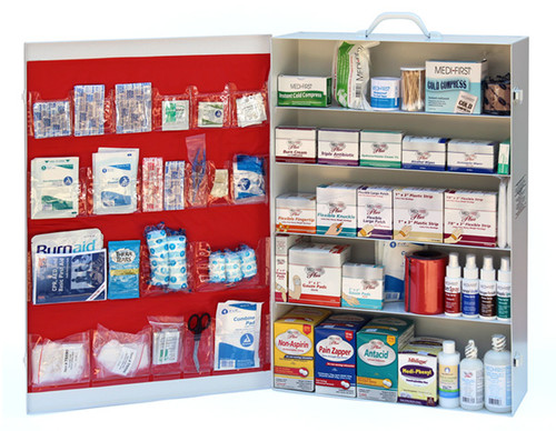 5 Shelf First Aid Cabinet Refill