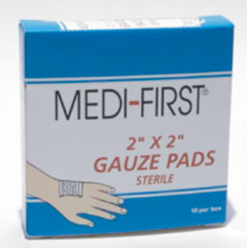 """2"""" x 2"""" Sterlie Gauze Pads (10 Count)"""